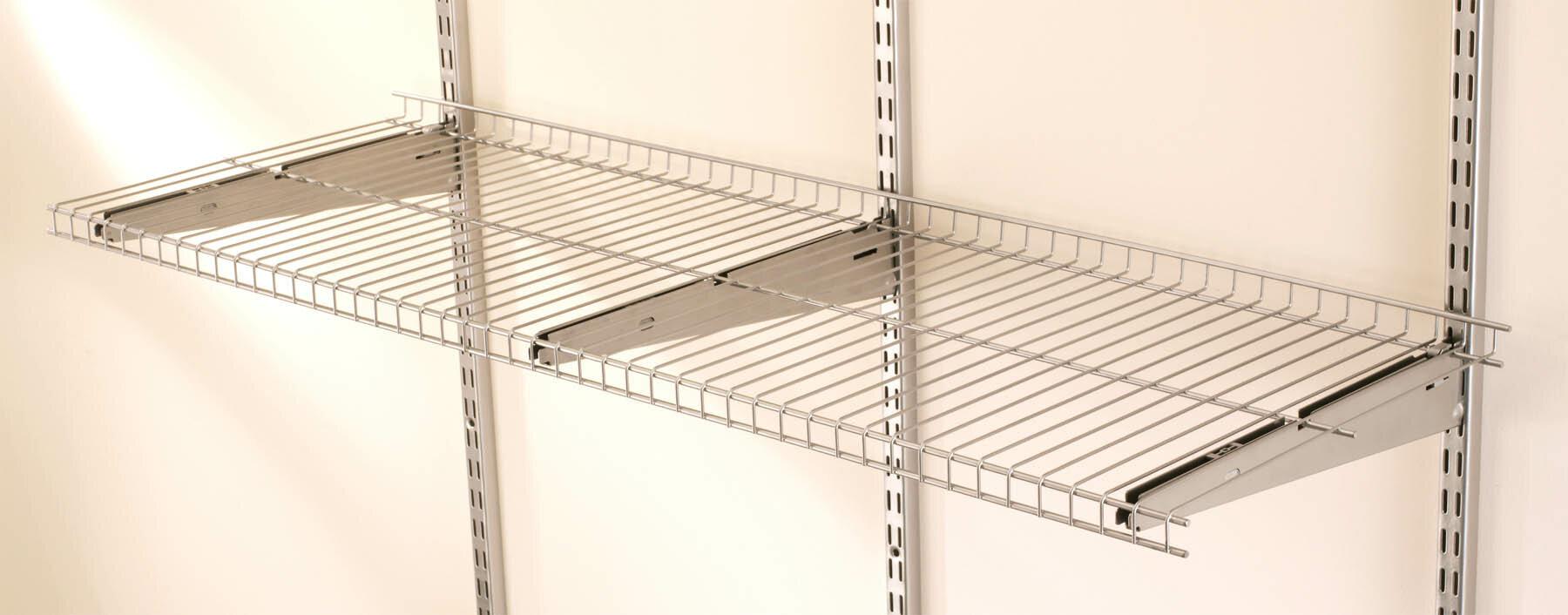 2c5d3e300a5 Rubbermaid FastTrack Wire Shelf   Reviews