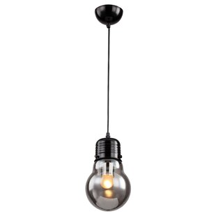 Menchaca 1-Light Bulb Pendant by Williston Forge