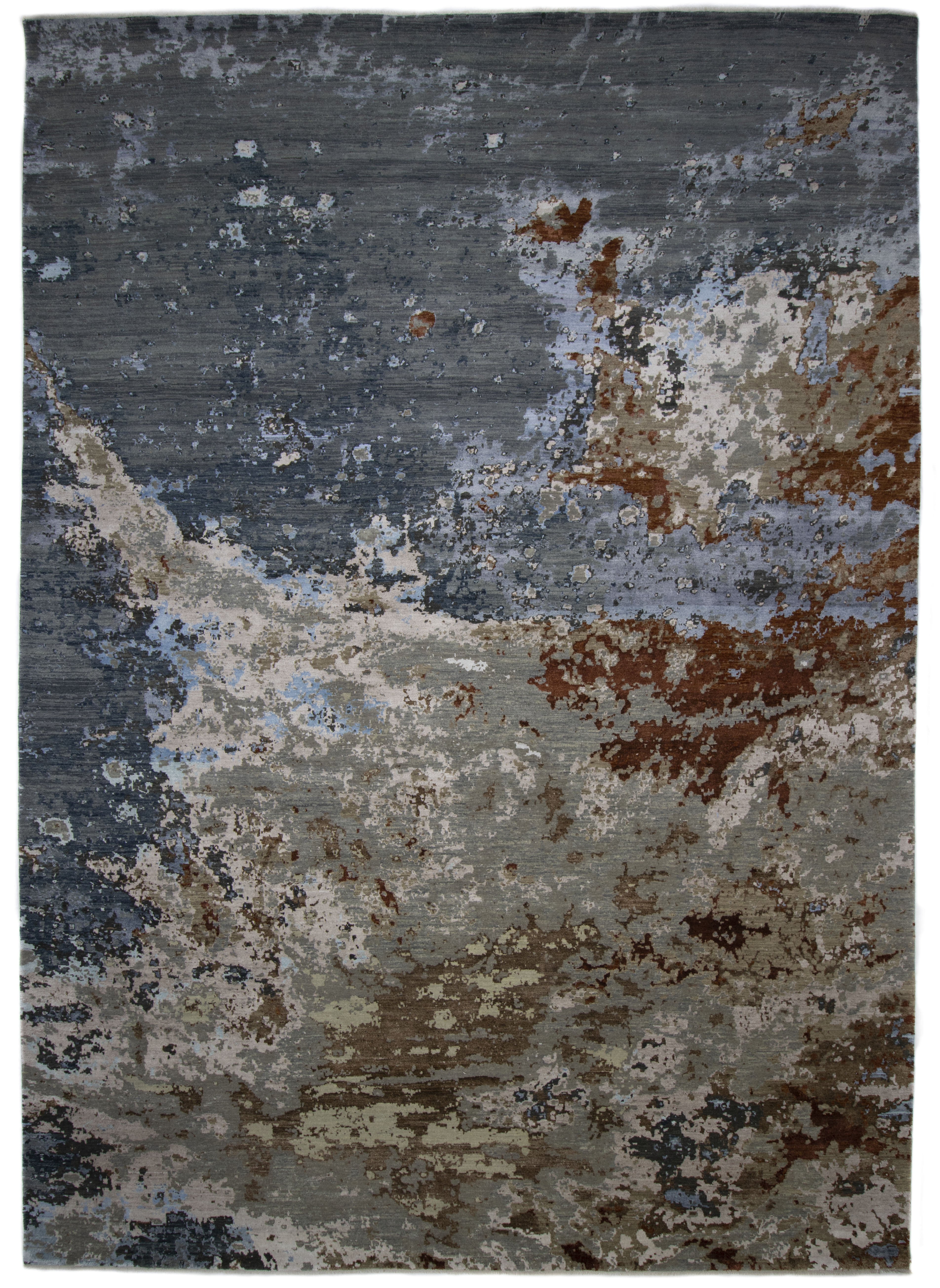 Solo Rugs Evan Hand Knotted Wool Area Rug Multi 10 X 14 Wayfair