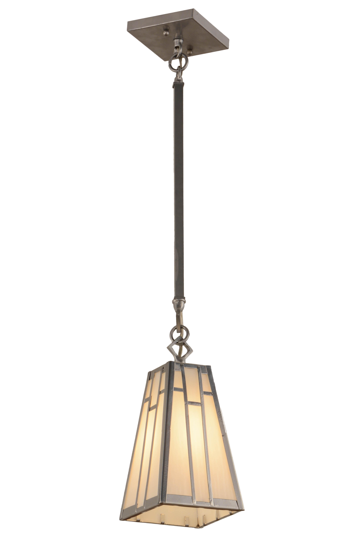 Meyda Tiffany Greenbriar Oak 1 Light Unique Statement Cone Pendant Perigold