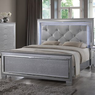 Reena Upholstered Panel Bed