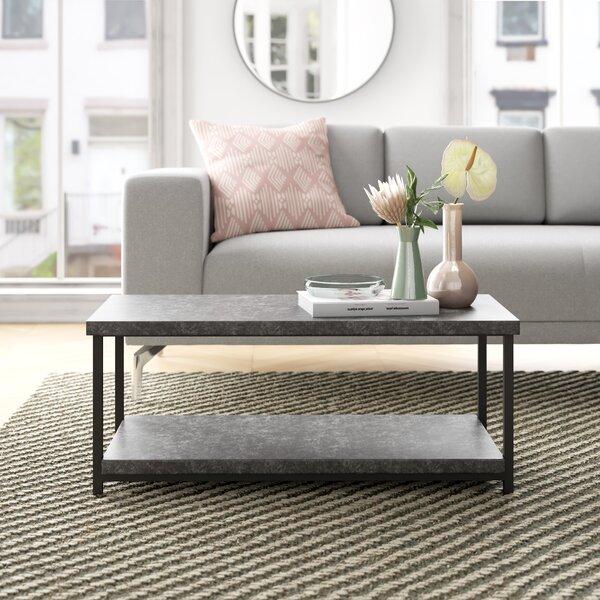 Agatha Concrete Coffee Table | Wayfair