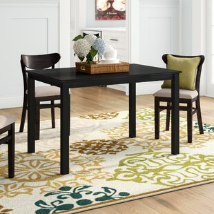 Madelina Solid Wood Dining Table Winston Porter