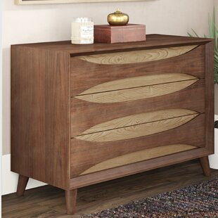 Jamal 3 Drawer Accent Chest by Corrigan Studio