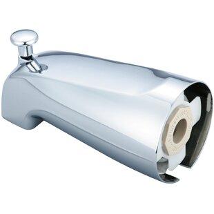 Olympia Faucets Deck Mount Combo Diverter Tub Spout