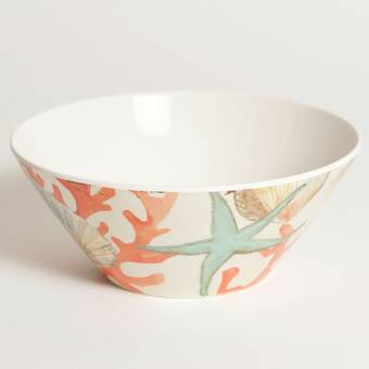 Rosecliff Heights Delaney 22 Oz Fluidity Melamine Salad Bowl Reviews