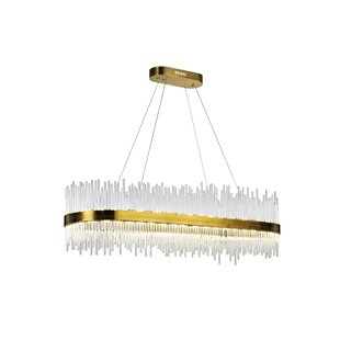 Genevieve 1-Light LED Crystal Chandelier ..