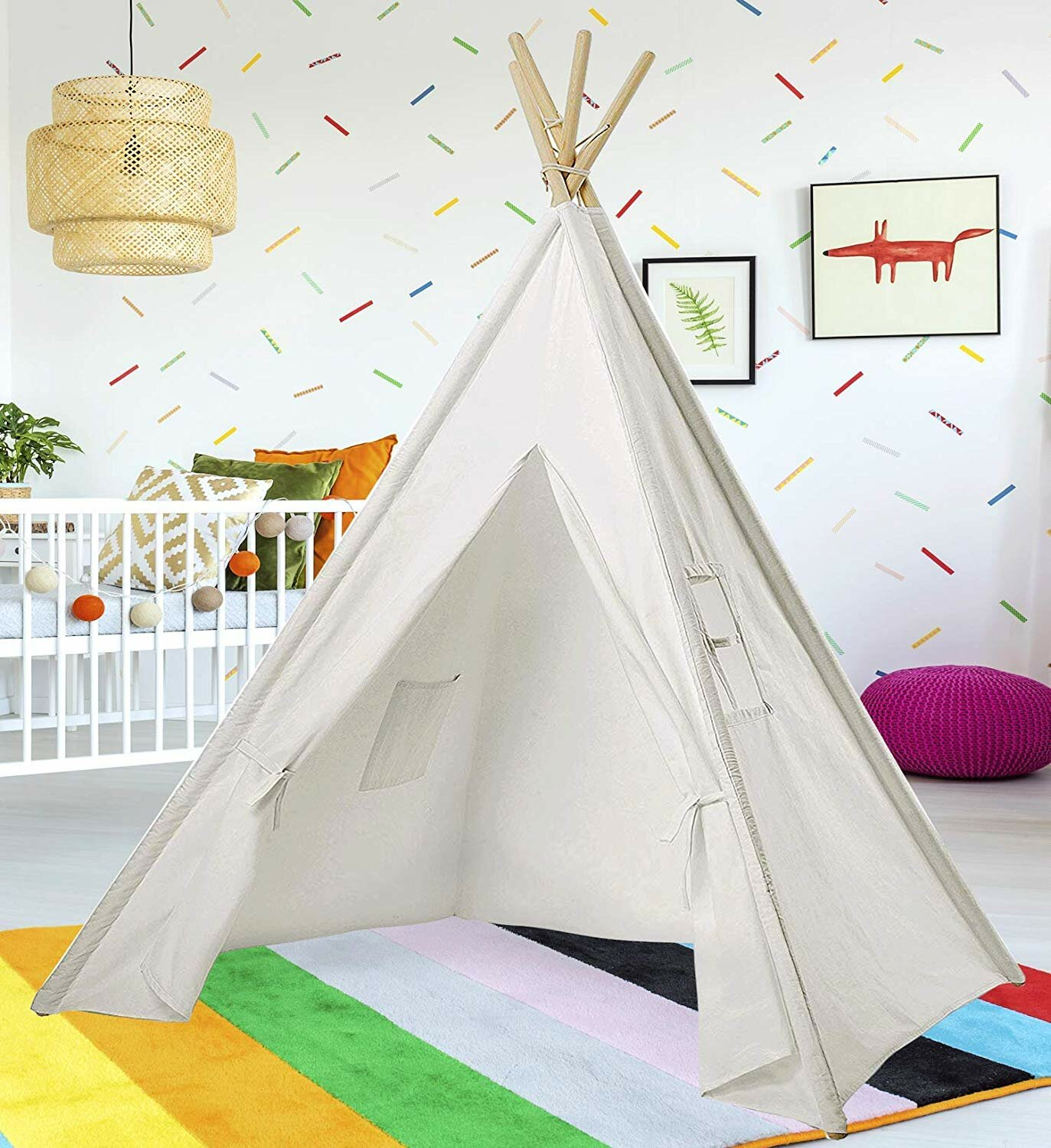 the best attitude 1a489 cdd56 Kid Play Teepee