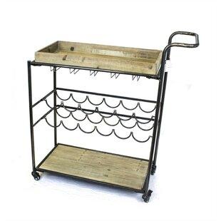 Boxborough Bar Cart by Gracie Oaks