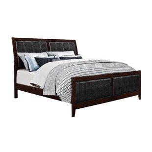 Alcott Hill Honeycutt Upholstered Panel Bed