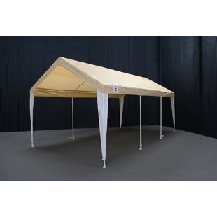 Hercules 11 Ft. W x 20 Ft. D Steel Party Tent by King Canopy