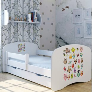 Magic Owl Bed With Mattress And Drawer By Zoomie Kids