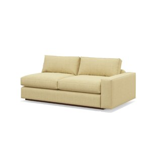 "Jackson 82"" One-Arm Loveseat by TrueModern SKU:BE262361 Description"