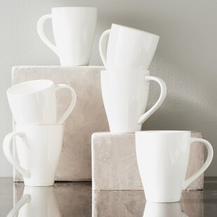 Whisper White 16 oz. Mug (Set of 6)