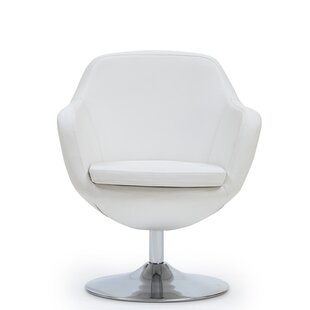 Wharton Swivel Armchair by Wade Logan Great Reviews