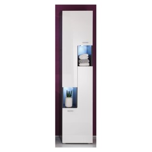 Charmy Down 40 X 182cm Tall Bathroom Cabinet By Wade Logan