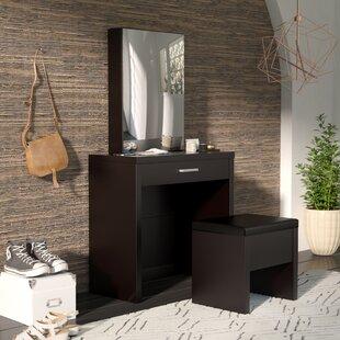 Corner Bedroom Vanity Set | Wayfair
