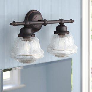 Laurel Foundry Modern Farmhouse Margaree 2-Light Vanity Light