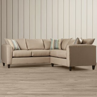 Allyn Symmetrical Sectional by Beachcrest Home SKU:BC654375 Reviews