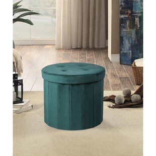 Graves Tufted Storage Ottoman