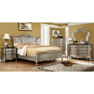 Cameron Upholstered Panel Bed