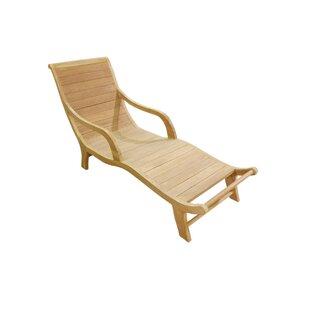 D-Art Collection Teak Chaise Lounge