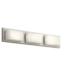Orren Ellis Amesbury 3-Light LED Bath Bar