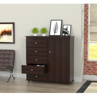 Bonifacio 5 Drawer Combo Dresser