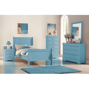 Hallatrow 6 Drawer Double Dresser