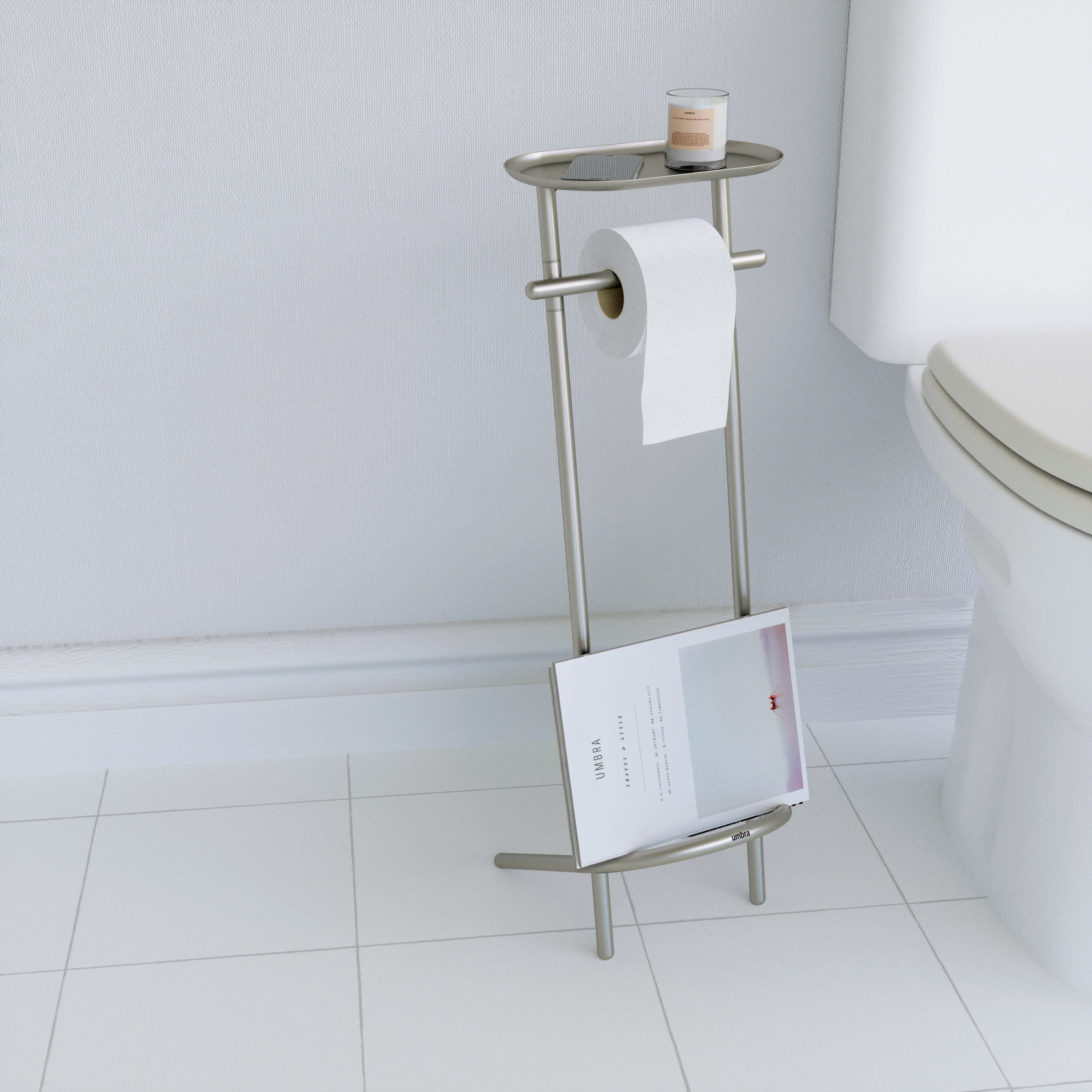 Valetto Free Standing Toilet Paper Holder | AllModern