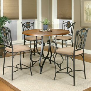 El Diente 5 Piece Counter Height Dining Set Loon Peak