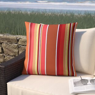 Cherryvale Mango Outdoor Sunbrella Throw Pillow