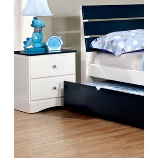 Cristina 2 Drawer Nightstand