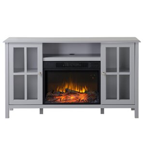 Langley 55.5″ TV Stand with Fireplace