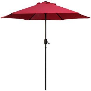 Highland Dunes Bookout Patio Market Umbrella