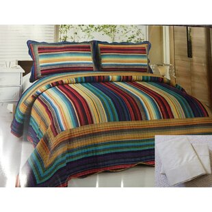 Oconner 7 Piece Reversible Quilt Set