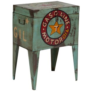 Creswell Motor Ballot Box End Table by Williston Forge