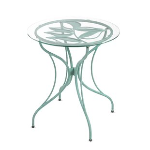 Wind & Weather Metal Leaf Bistro Table