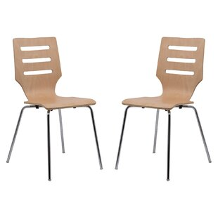 Celia Stacking Patio Dining Chair (Set of..
