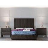 Adella Platform Solid Wood 3 Piece Bedroom Set by Greyleigh