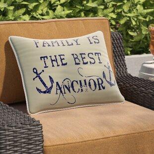 Collins Beach Family Anchor Breakfast Pillow