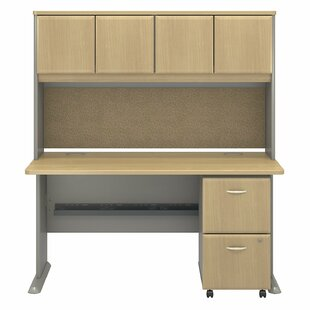 Affordable Series A Desk with Hutch By Bush Business Furniture