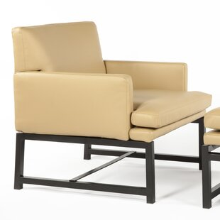 Kuopio Armchair and Ottoman by dCOR design