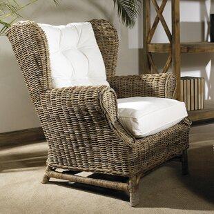 Kubu Wingback Chair by Padmas Plantation