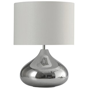 Belfort Glass Transitional 26.25 Table Lamp