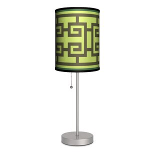 Lamp-In-A-Box Decor Art Spiral Squares 20