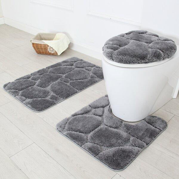 Contour Pads Absorbent Carpet Bath and Mat Anti-Slip Pads Set Game of Thrones Bath Mat 2 Piece Set Bathroom Carpet Set Soft Anti-Skid Pads Bath Mat