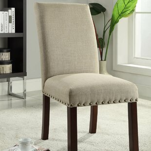 Obryan Parsons Upholstered Dining Chair (Set of 2) Alcott Hill