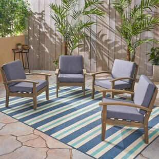 Claytor Patio Chair with Cushions