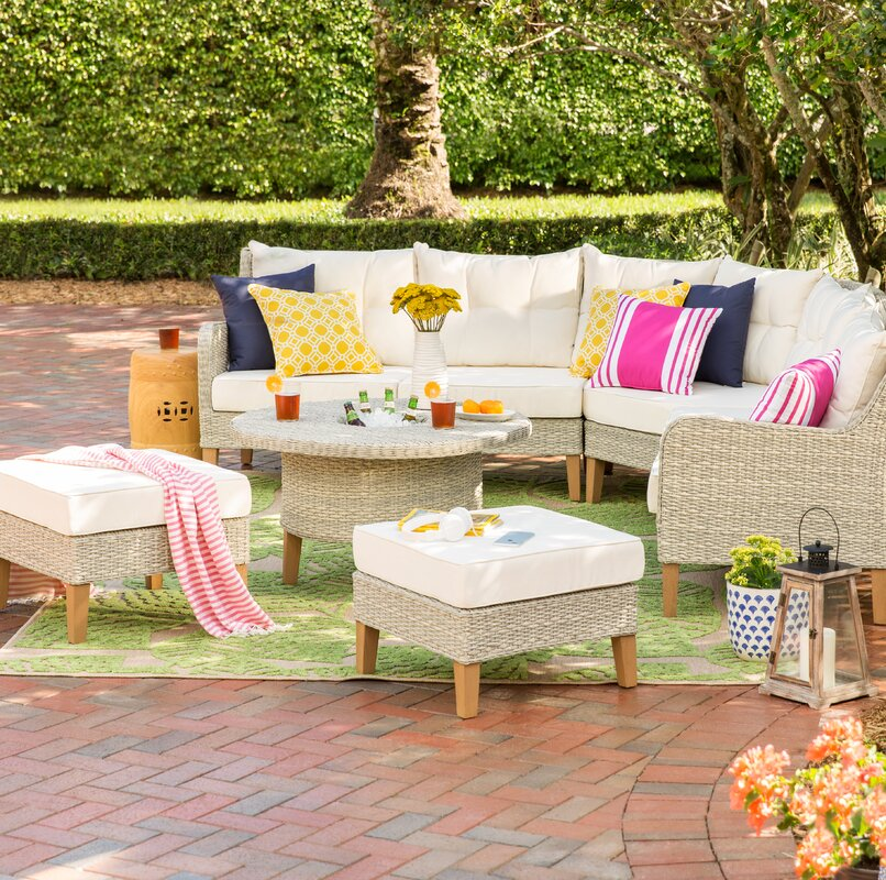 Cearley Modular Sectional with Cushions